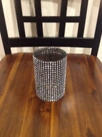 Diamond Meshed Candle Holders
