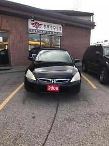 2006 Honda Accord With Clean CarProof!!! 161k! CERTIFIED!