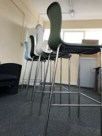 Original Vitra Hal high stools