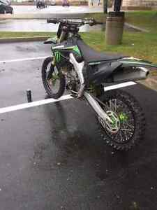 2009 kx250f monster edition wth papers