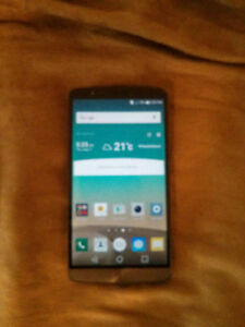 Bell /Virgin /Pc mobile - LG G3 Mint-Outter box included