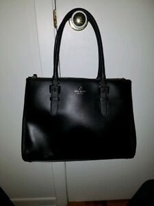 Kate Spade Black Leather Purse-Perfect Condition