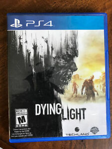 Dying Light PS4 Game Barely Played