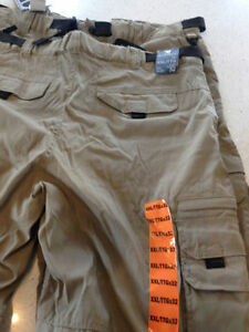 MENS LINED CARGO PANTS $25