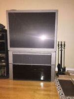42 inch Sony Projection TV with stand