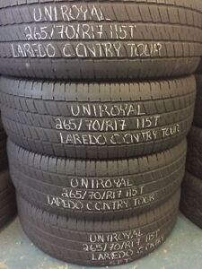 """17"""" Winter Snow USED Tires in LIKE NEW Condition!!!!!!!"""
