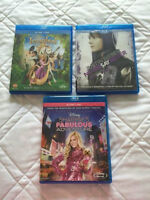 3 Blue Ray Movie's for sale