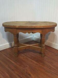 Table De Salon Canadien en Bois Canadian Wood Living Room Table