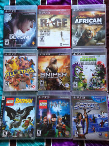 5 PS3 GAMES LEFT - $20 EACH