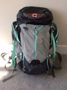 **FOR SALE** - USED Backpacking Pack:MEC Aurora 50L Women's