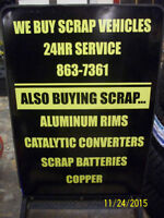*NEW HIGHER PRICING* $$$ OPEN 24/7 Buying Scrap cars.