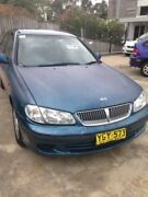 2001 Nissan Pulsar N16 ST Blue 4 Speed Automatic Sedan Wentworthville Parramatta Area Preview