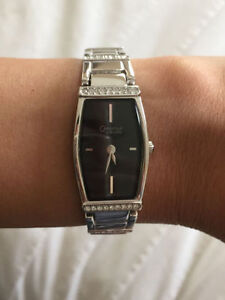 BRAND NEW SILVER CARAVELLE BY BULOVA WATCH FOR LADIES