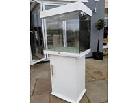 Fish tank with cabinet stand