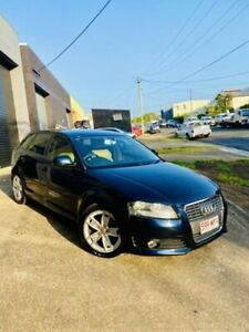 2009 Audi A3 8P MY10 TFSI Sportback S Tronic Ambition Blue 7 Speed Sports Automatic Dual Clutch Moorooka Brisbane South West Preview