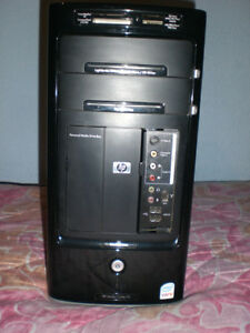 hp desktop tour q6600 asus p5bw-la 2gb   base gamer