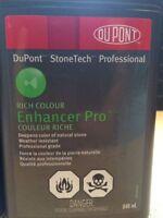 Protecteur (amélioration de la couleur) ardoise/pierre naturelle