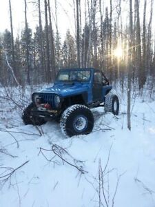 2004 Jeep Wrangler rock crawler offroad