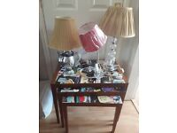 Table lamps from £10