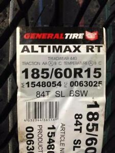 4 Brand New General Altimax RT 185/60R15 All Season Tires
