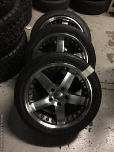 17 inch Fast Wheels -- 5 Spoke -- 5x120 GREAT DEAL