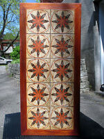 1970's VINTAGE DANISH-MODERN SCANDINAVIAN TILE TOP COFFEE TABLE