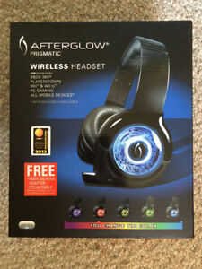 PDP Afterglow Prismatic Wireless Headset & Dolby 5.1 SS Tower Edmonton Edmonton Area image 1