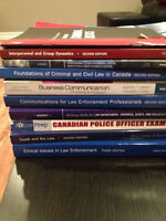 Various PFP(police foundations), PSYCH and CRIM books