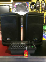 2 Speakers and Mixer