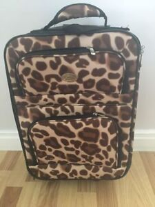 Small Cheetah print suite case - BRAND NEW