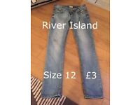 Ladies clothes size 12 size 8