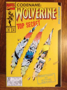wolverine comics lot