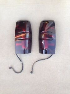 Smoked Taillights For Chevrolet Avalanche Edmonton Edmonton Area image 1