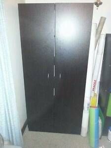 Black cupboard with removable shelves Arcadia Hornsby Area Preview