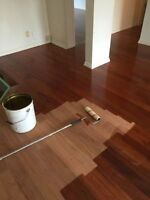 Floor sanding and reparation start from 1,25$ sqf ECO produit
