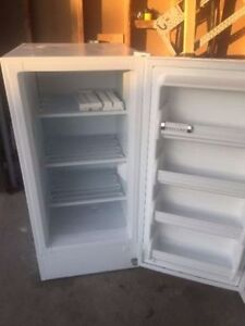 1.5 years old Beaumark stand up freezer for sale