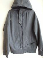 GREY HOODY JACKET LULULEMON,SZ.M $40.00  WHITE /ORANGE JACKET LU