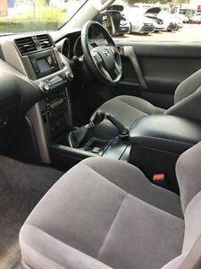 2010 Toyota Landcruiser Prado KDJ150R GXL White 6 Speed Manual Wagon Gympie Gympie Area Preview