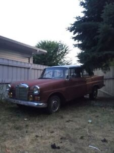1963 Classic Mercedes  190D for parts