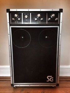 VINTAGE CMI SG Systems SG-215 Power Amp for BASS (Tube/Gibson)