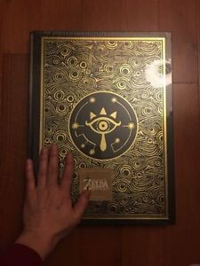 Legend of Zelda Breath of the Wild Limited Edition Guide
