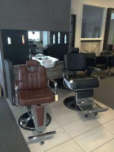 Équipement de coiffure et esthétique - Chaises hydrauliques, etc