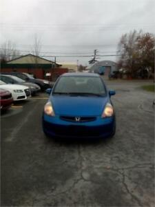 "2007 Honda Fit LX 5SPD LOADED CHEAP  CLICK ON ""SHOW MORE"""