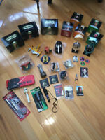 """24 """"Star Wars"""" toys/collectibles - new or like new - $15 total"""