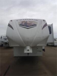 2010 34 FT COACHMEN RV CHAPARRAL 299 TS 5TH WHEEL