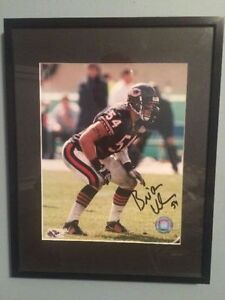 Brian Urlacher Signed Chicago Bears Photo