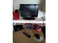 Alba 16 Inch HD LCD TV + DVD Combi + Universal Wall mounting support ONLY 25 pounds TOGETHER !!!!