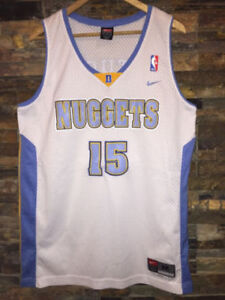 Carmelo Anthony #15 Nuggets NBA rookie throwback jersey