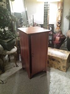 For sale antique wooden book cabinet