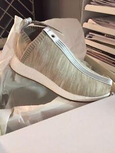 Adidas Nmd Cs2 naked x kith size 9.5 Tan